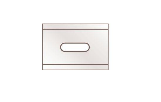Lame de rechange pour cutter réf. A9565 - MARTOR - Paquet de 10