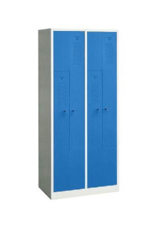 Vestiaire monobloc 4 portes en L - CARAY - A l'unité