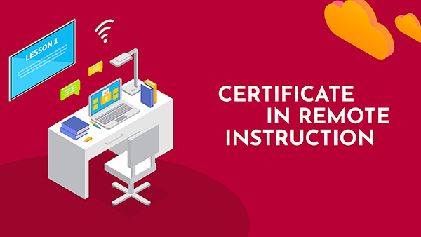 Certificate in Remote Instruction