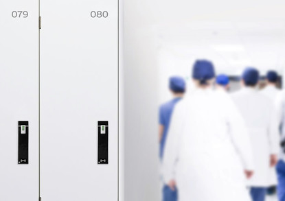 RFID furniture locks for staff changing rooms