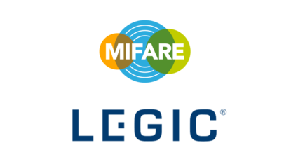 LEGIC and MIFARE locking media technology, all 13.56 MHz ID systems
