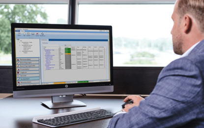 Manage access control conveniently from your PC with our software