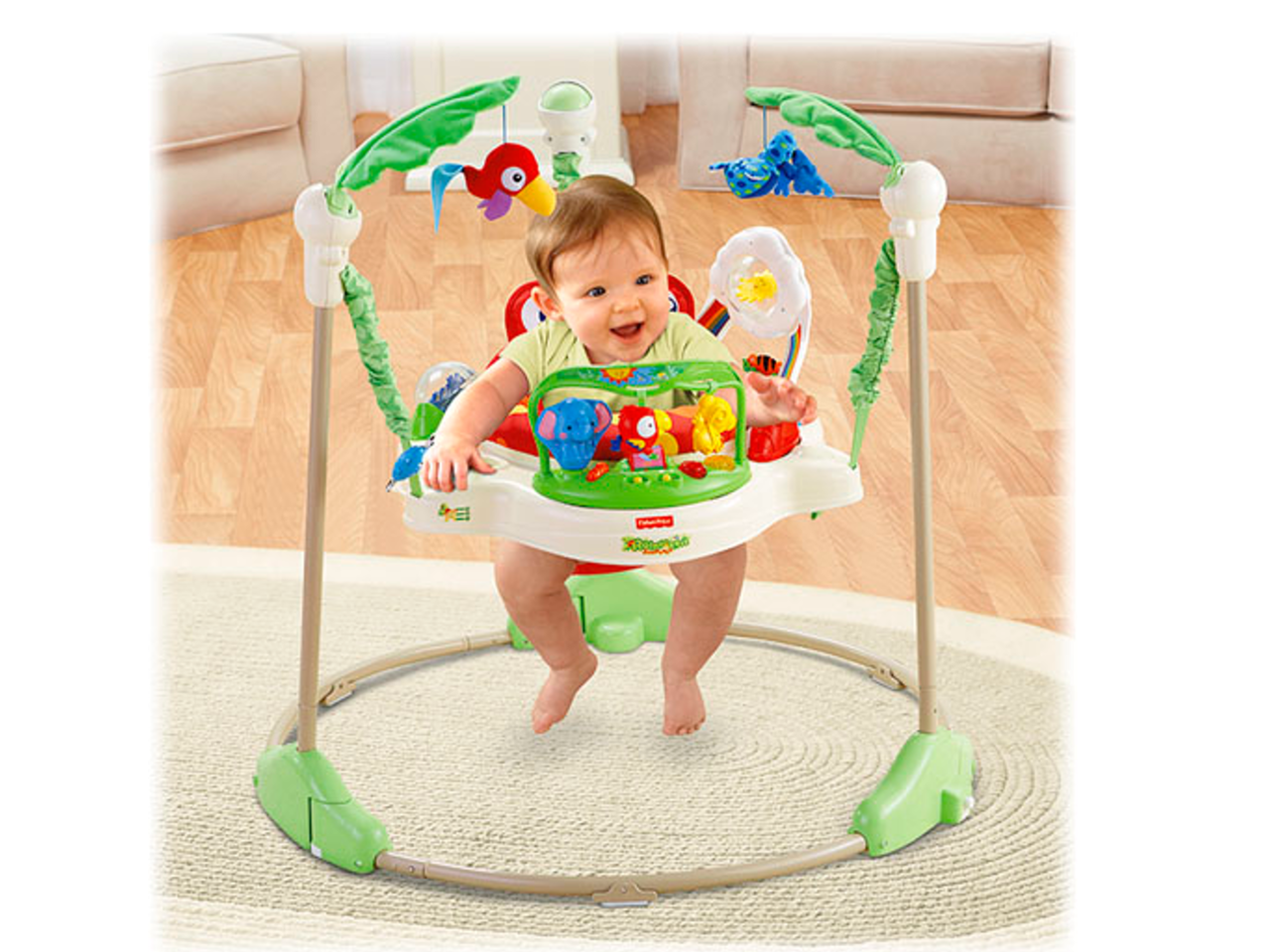 Fisher Price Animals of the Rainforest Jumperoo