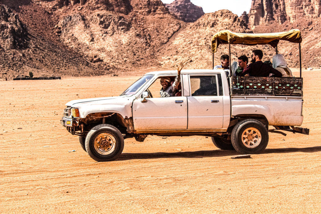Petra to Wadi Rum (Transfer)