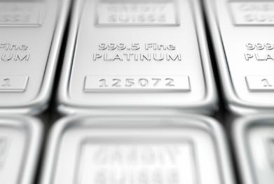 Platinum on rebound after spending five weeks below the $800 level