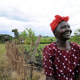 Rural women Photo Neil palmer/CIAT