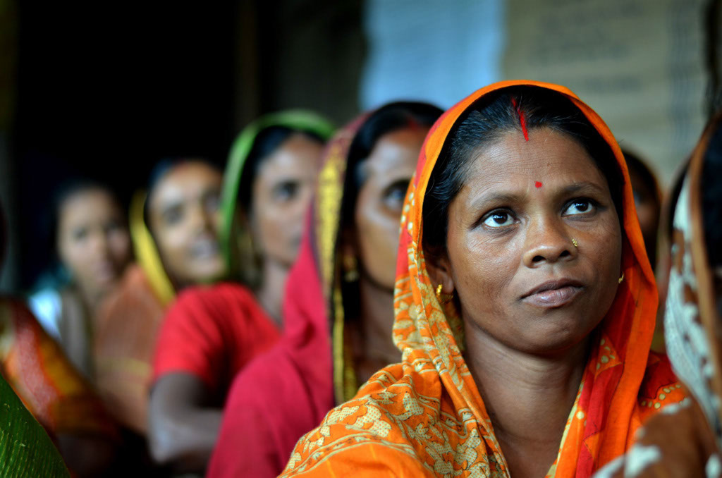 Women dairy farmers in Bangladesh