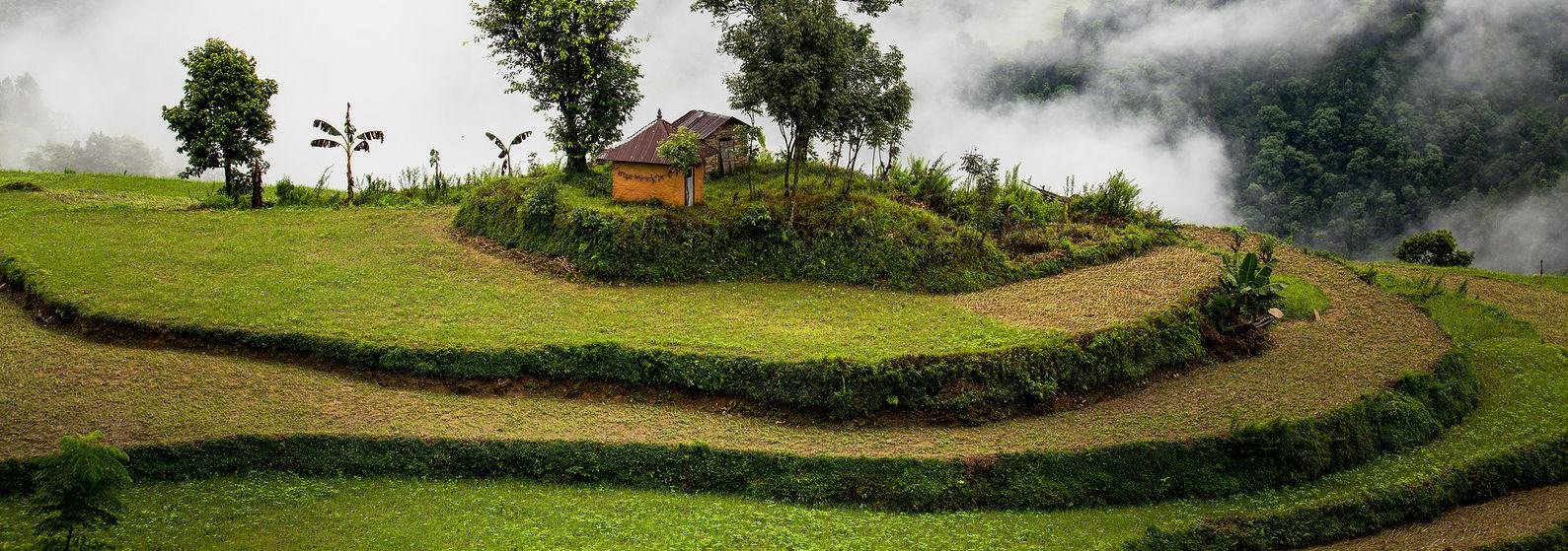 Village of Nalma, Nepal.