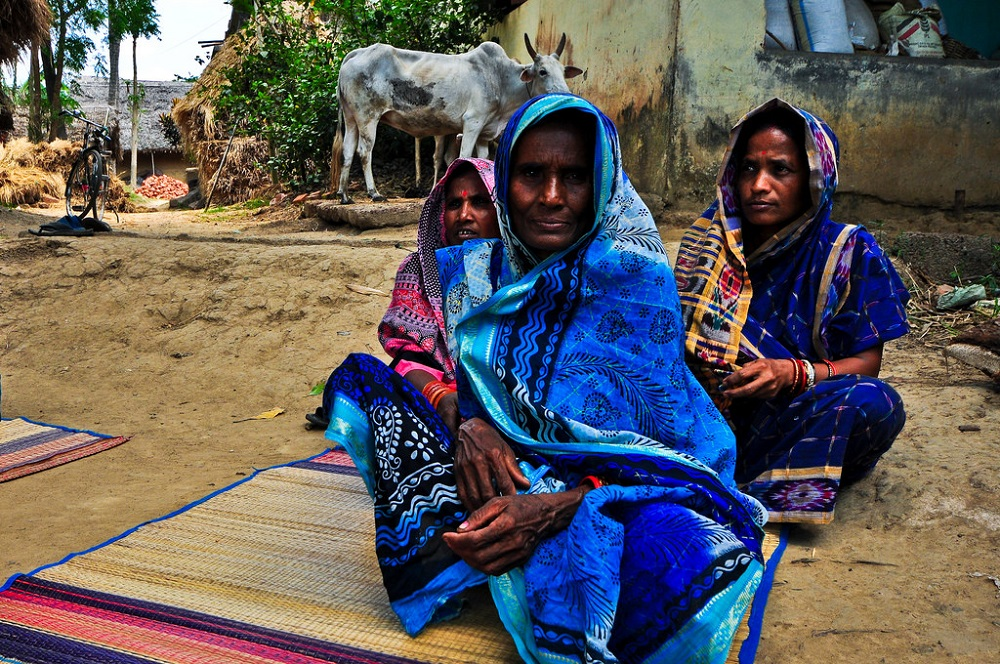 Rural women in India