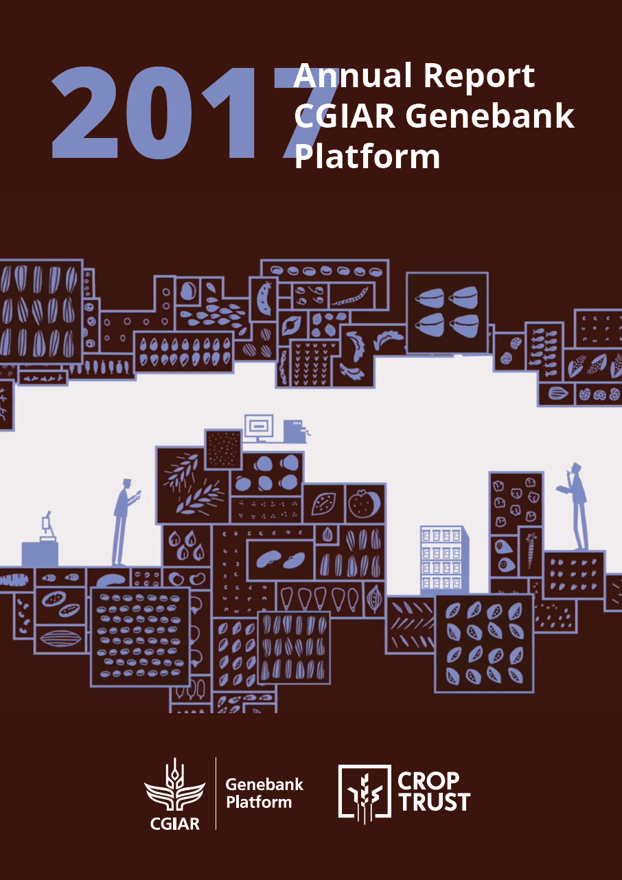2017 Genebank Platform Annual Report Cover