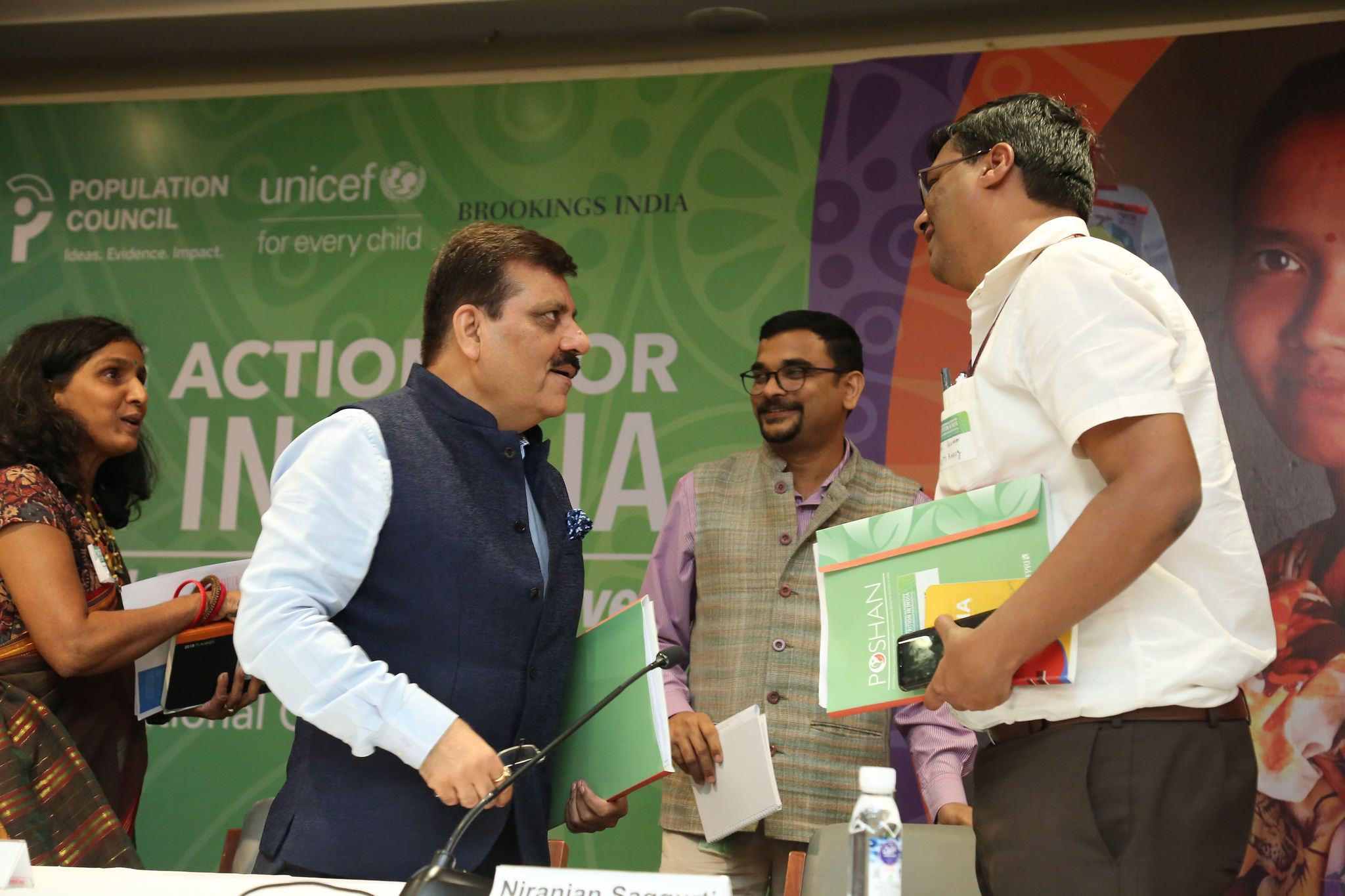 """Inaugural session of the workshop on """"Strengthening Actions for Nutrition in India"""" (Source: IFPRI)"""