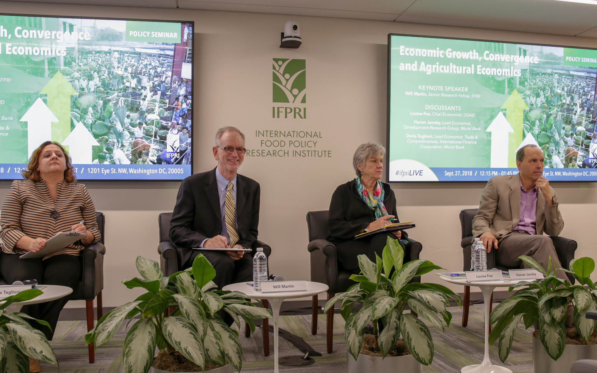 IFPRI Policy Seminar, Economic Growth, Convergence and Agricultural Economics