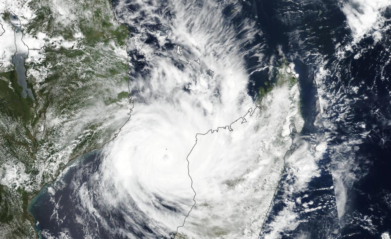 Cyclone Idai, satellite cyclone, mozambique