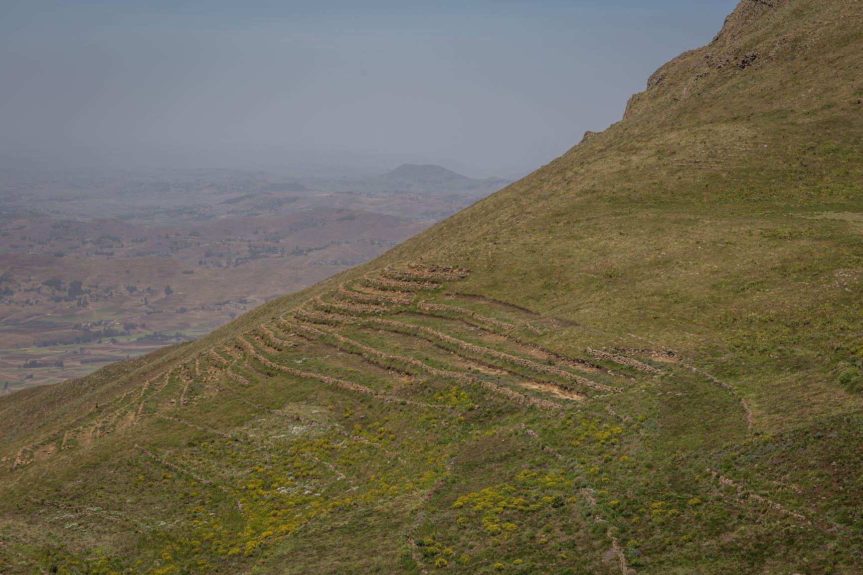 Landscape in Dessie, Ethiopia