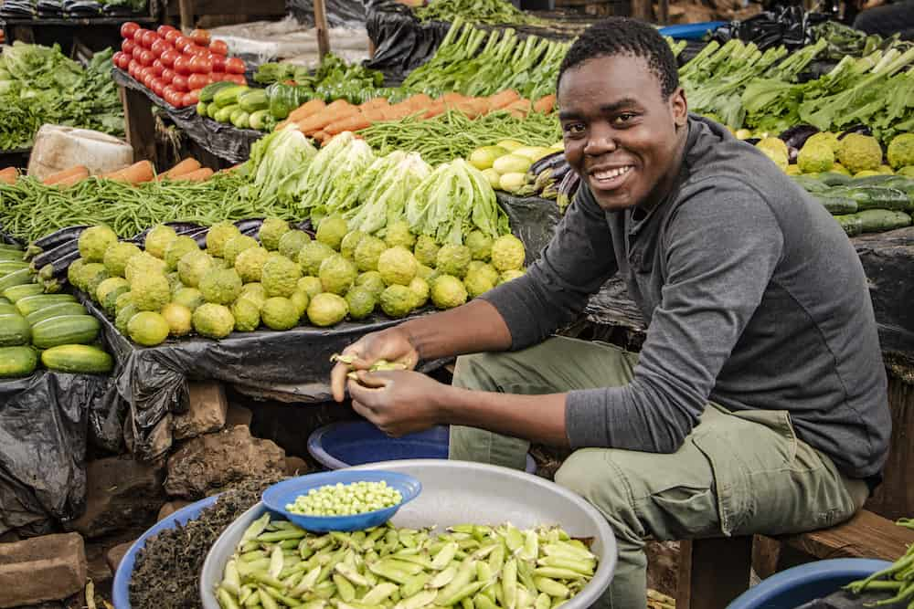 Lizulu market-Lilongwe town, Malawi