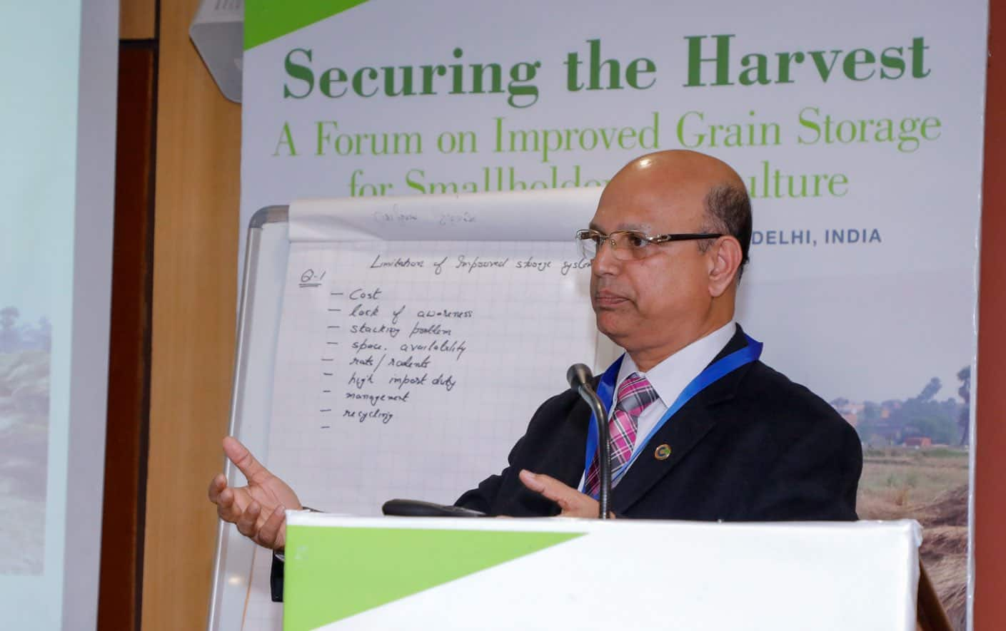 India forum: Securing the harvest for food security