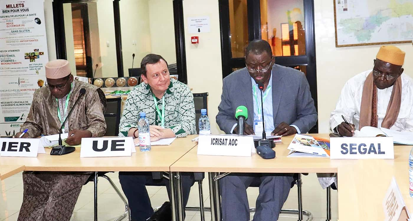 Delegates during the launch meeting of APSAN-Mali project at ICRISAT-Samanko in Mali. Photo: N Diakite, ICRISAT