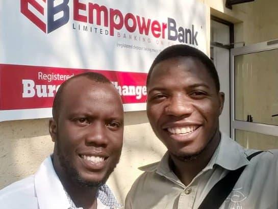 Takudzwa Gahadza and Tinashe Mbiriri, founders of Sky Brands