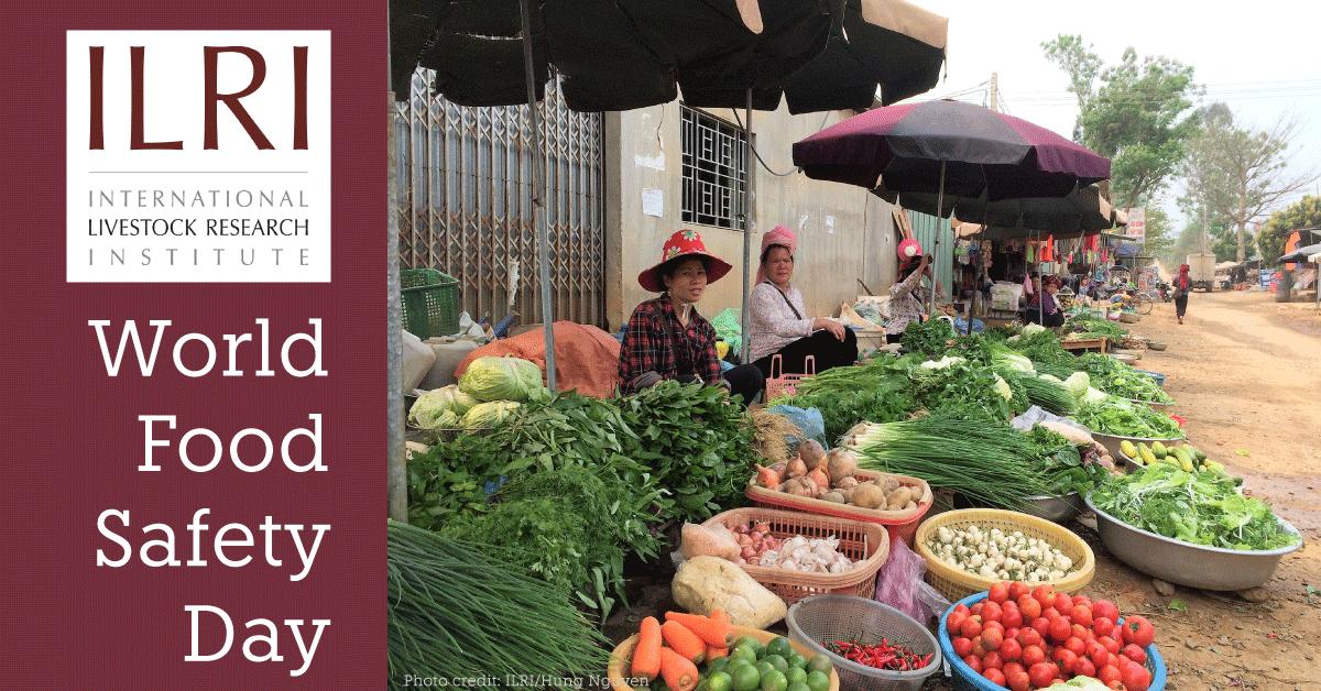 ILRI World Food Safety Day card