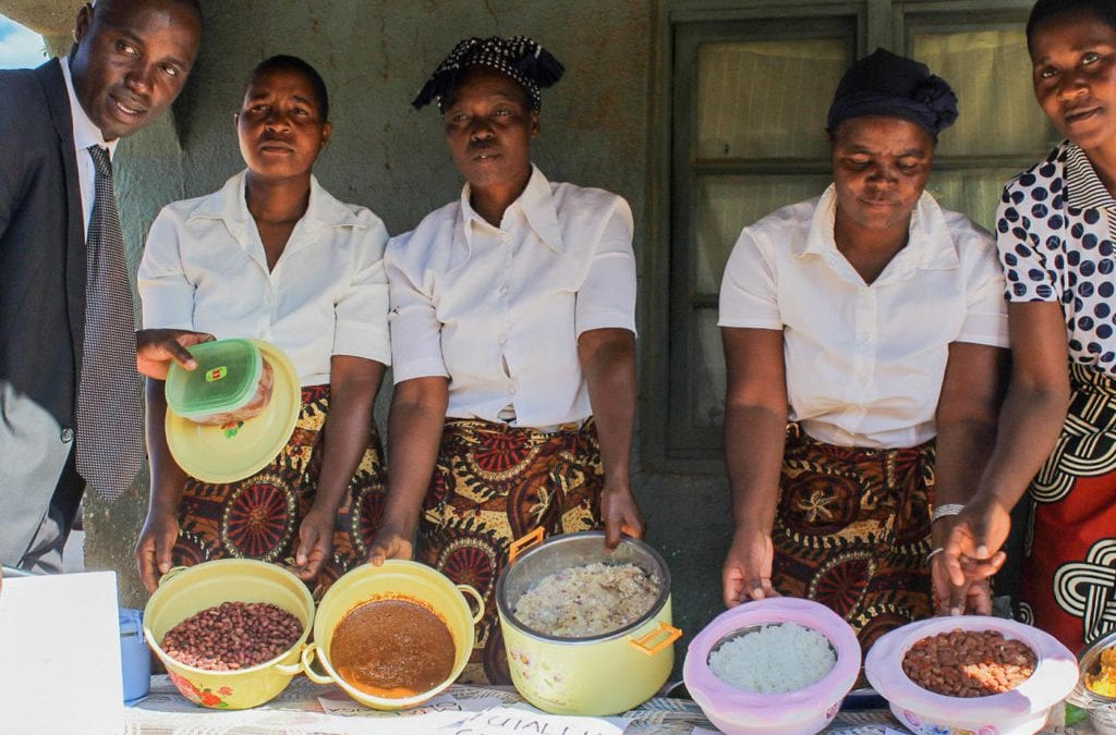 In rural Malawi, over 16,000 people, including young children, have benefited from 'Care Groups' that train people to prepare nutritious meals using local produce.