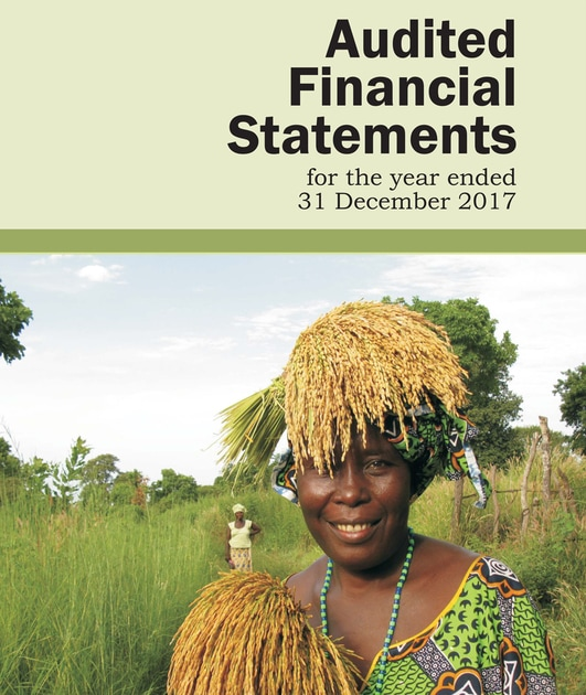 AfricaRice Audited Financial Statements 2017