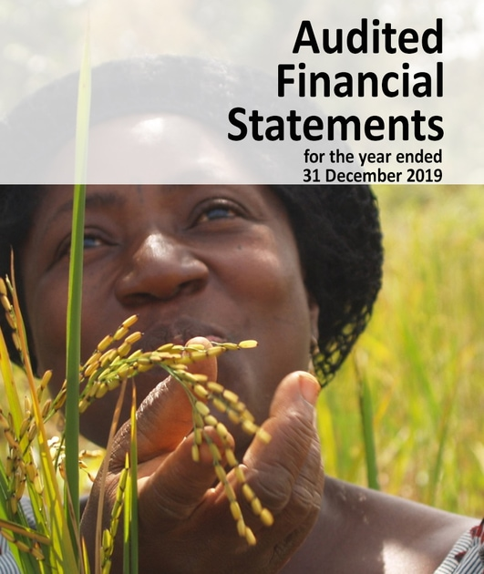 AfricaRice Audited Financial Statements 2019