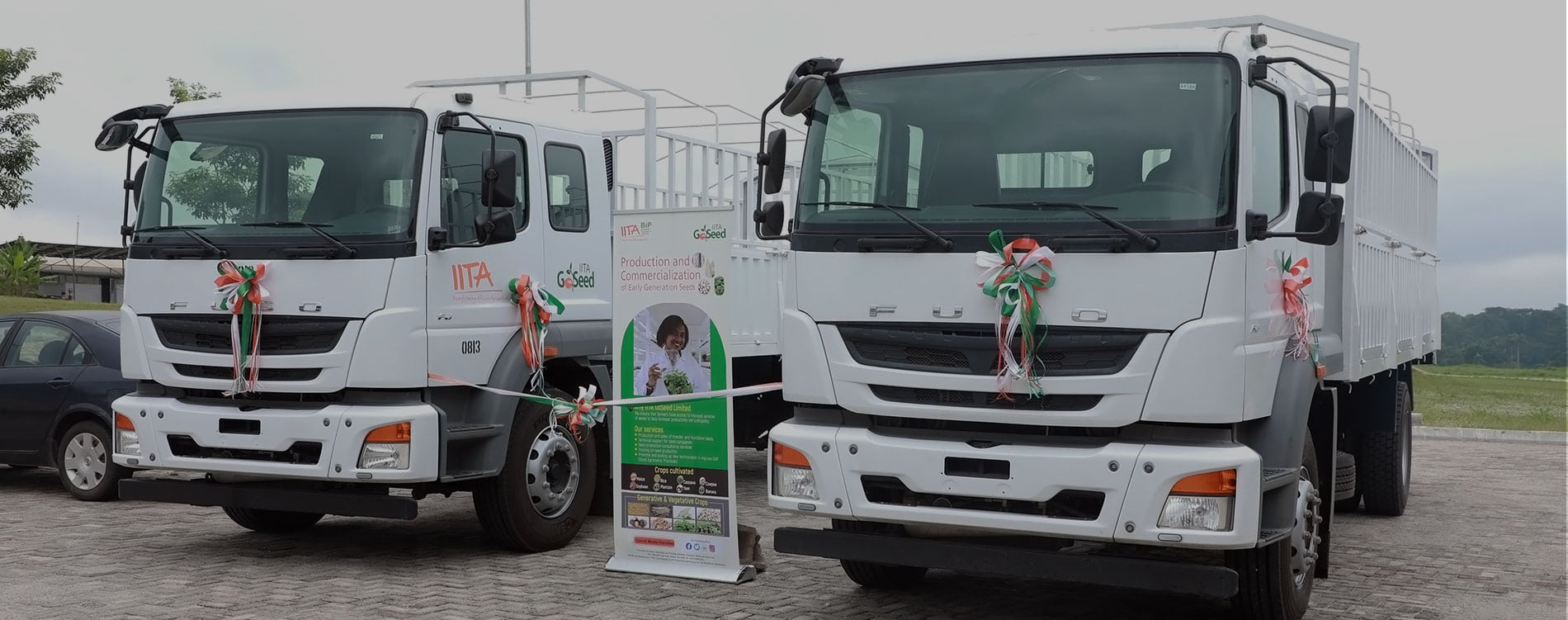 African seed system gets a boost with purchase of 18-ton trucks to ease quality seed delivery to farmers