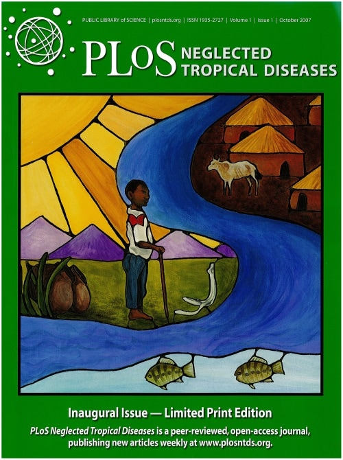 Cover of PLOS Neglected Tropical Diseases journal
