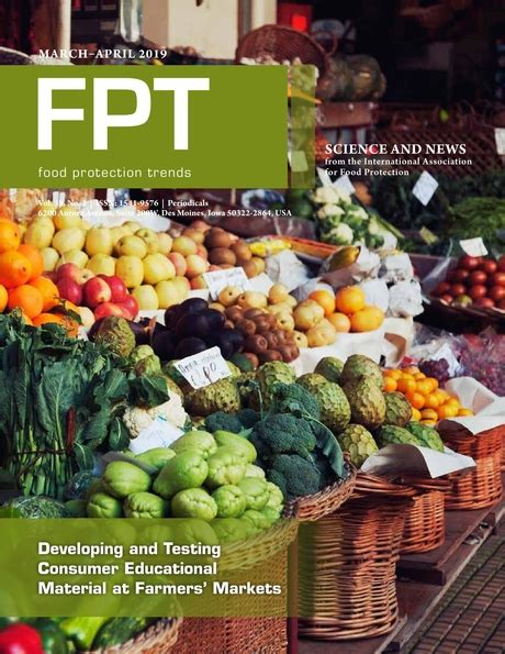 Cover of Food ProtectionTrends journal