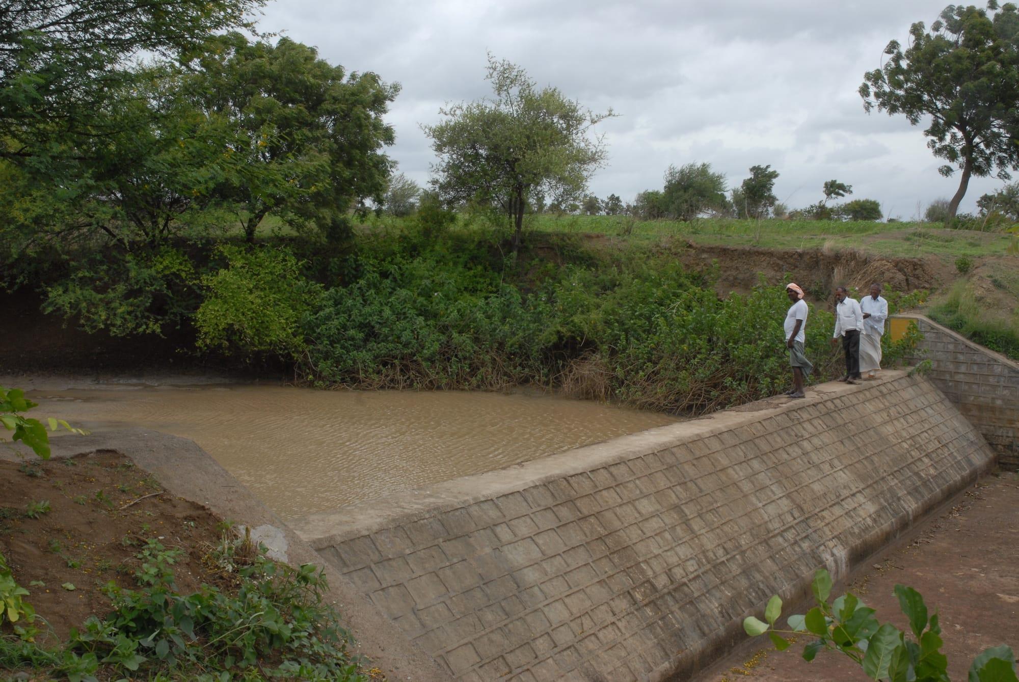 Holistic watershed development