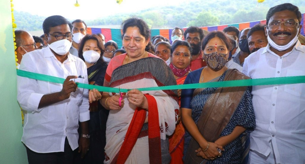 Two women-led food processing units opened in India
