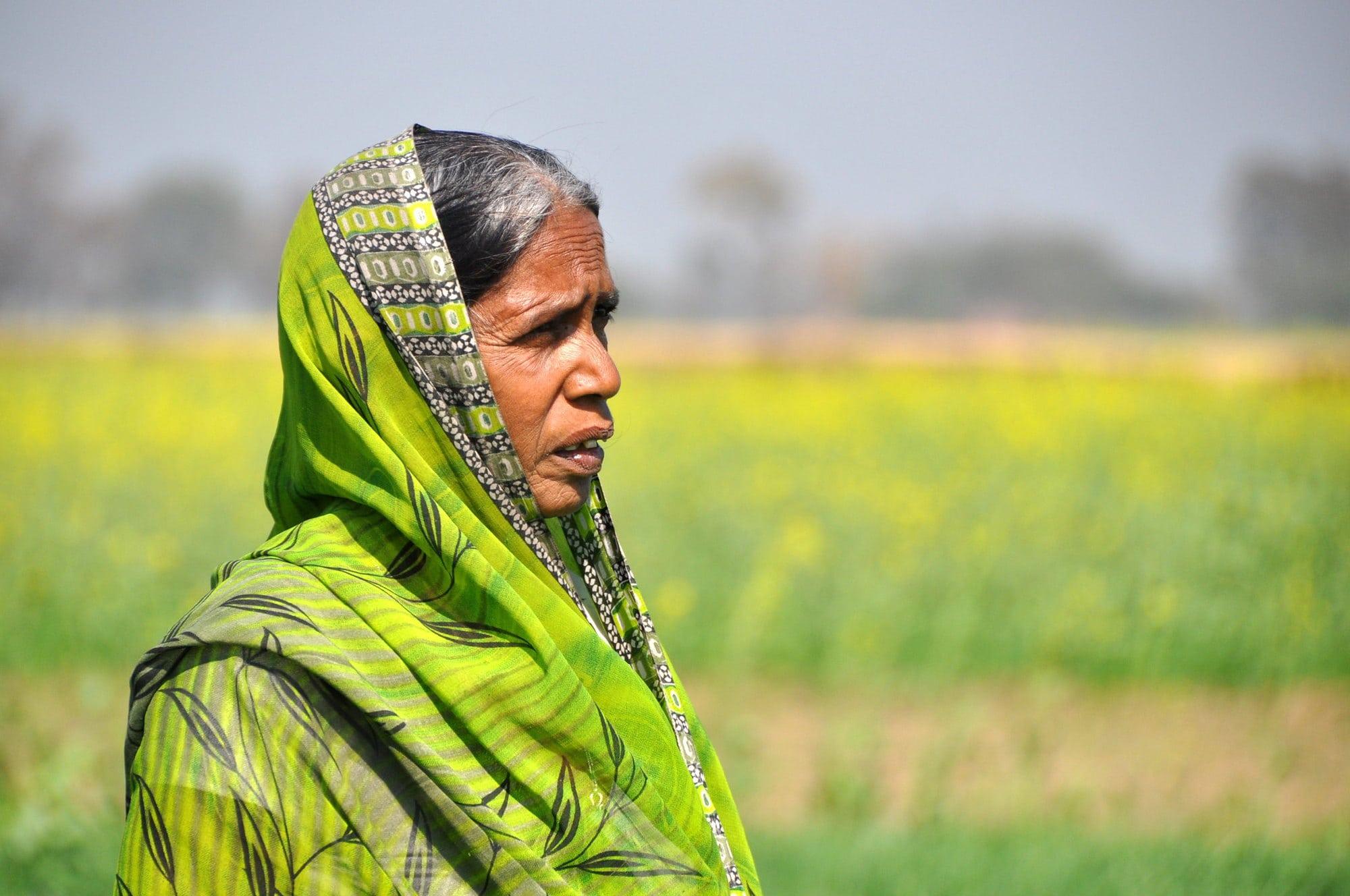 Indian farmer. Photo: CCAFS.