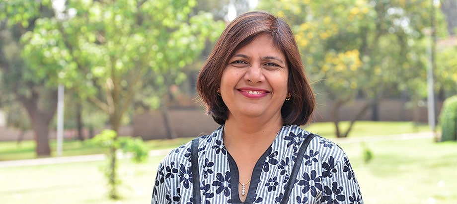 New NISD advisory panel member and IITA Eastern Africa Hub Director, Leena Tripathi