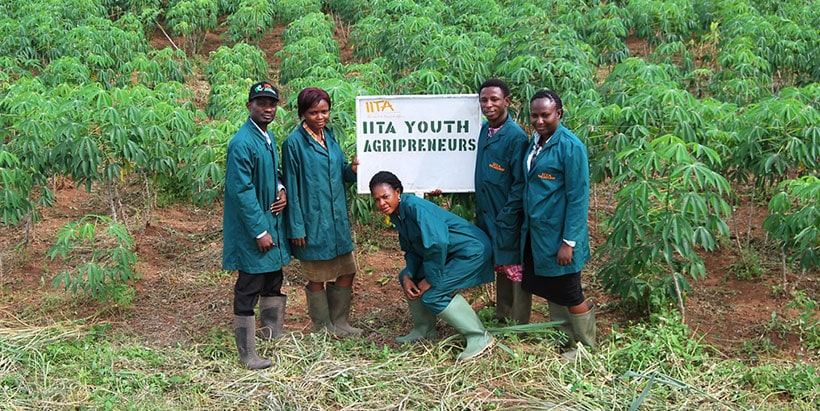 The IITA Youth Agripreneurs introduced many young people to agribusiness possibilities.
