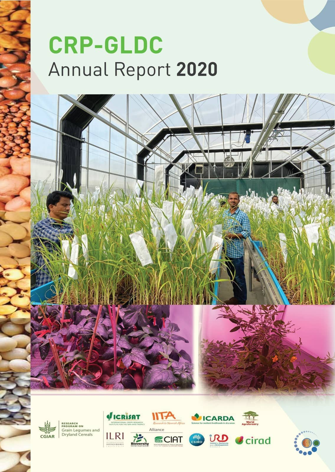 CRP-GLDC Annual Report 2020 Cover page