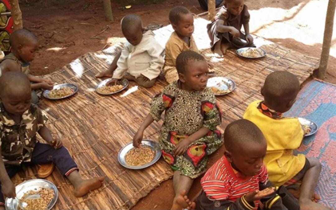 Women in Burundi supported to save time and improve children's nutrition (PABRA Africa)