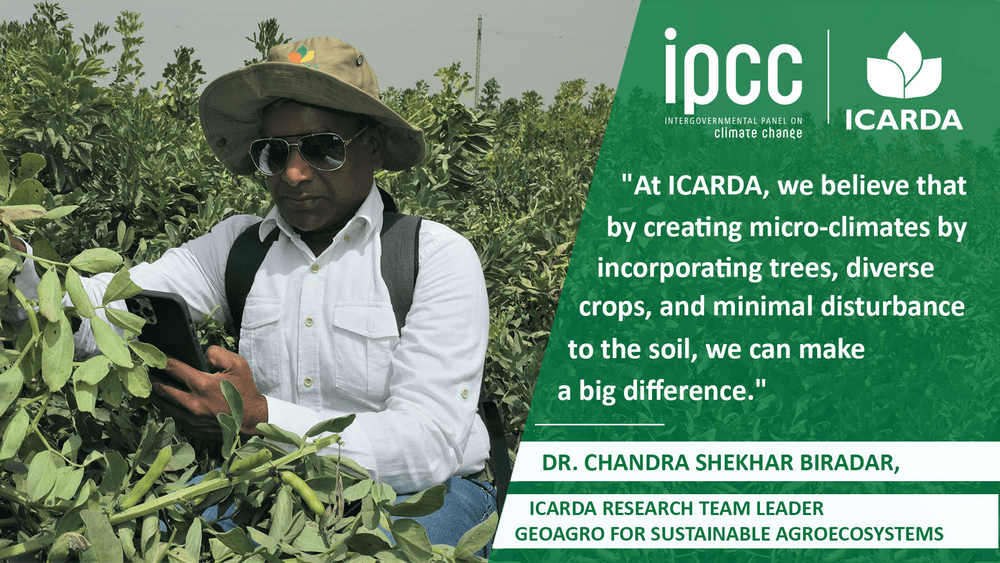 AGROECOSYSTEM SCIENTIST DR. CHANDRA BIRADAR DISCUSSES DRYLANDS AND THE IPCC REPORT