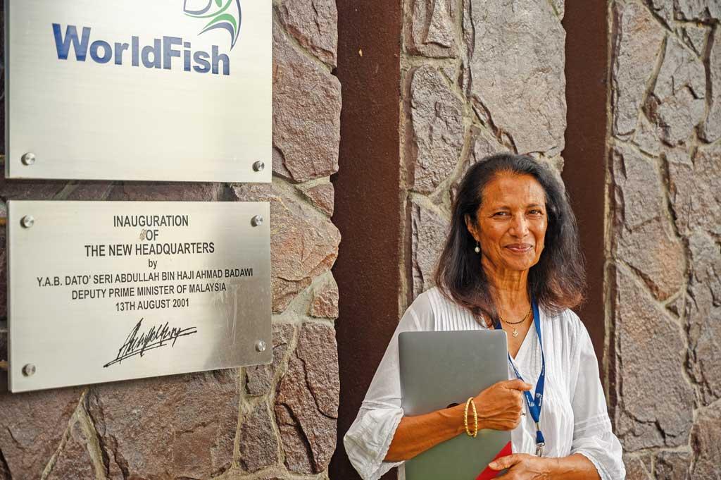 Dr. Shakuntala at WorldFish