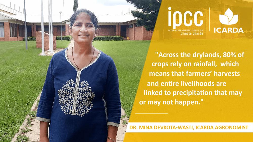 AGRONOMIST DR. MINA DEVKOTA DISCUSSES DRYLANDS AND THE IPCC REPORT