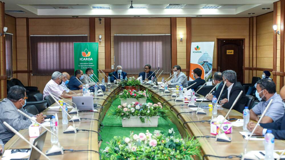 ICARDA-ARC Egypt 2021 Annual Planning Meeting