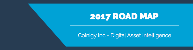 Coinigy's 2017 Roadmap Released