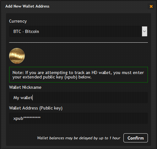 Balance Tracking for HD Bitcoin Wallets Now Available
