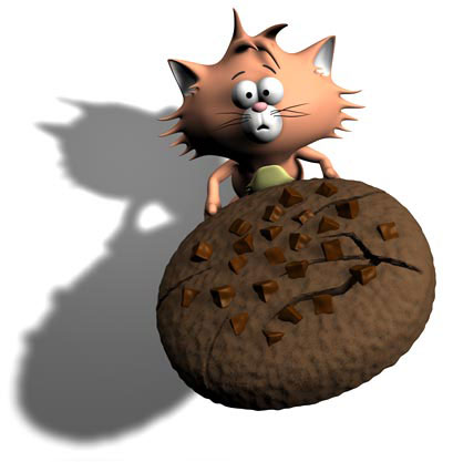 """Website """"Please accept cookies"""" graphic — 3D sculpting and posing"""