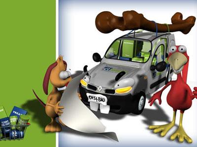 Pet Favourites site graphics