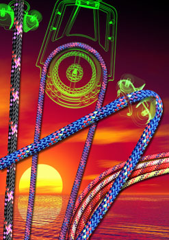 Marlow Ropes xrays sunset design