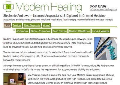 Modern Healing