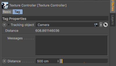 Polygon Reduction Controller tag properties panel