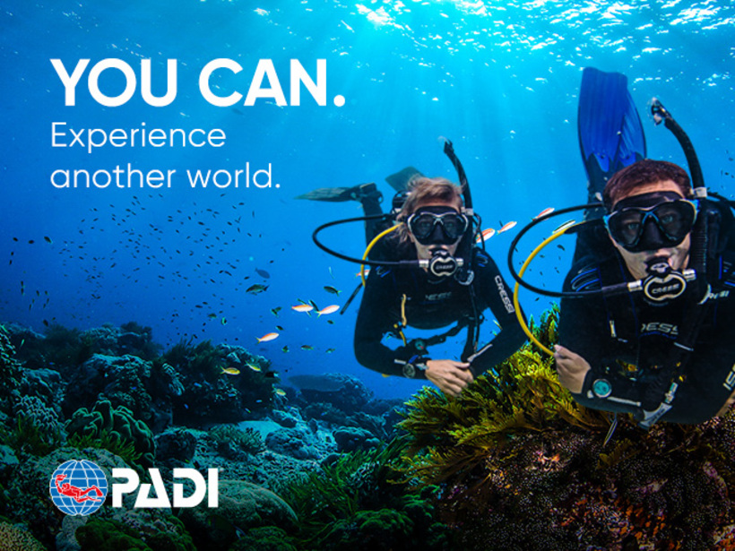 PADI Open Water Diver - pay as you go