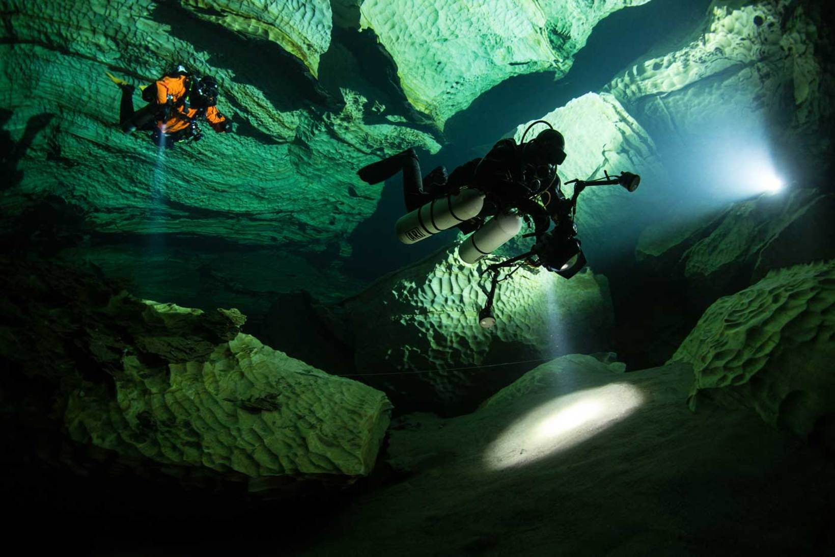 THE HOME OF ARCTIC CAVE DIVING