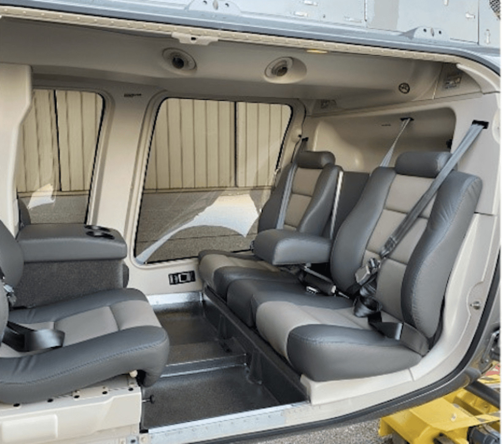 Bell 407 GXi Interior